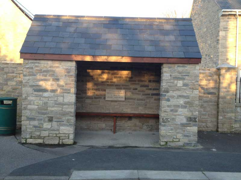 Portesham Stone Bus Shelter